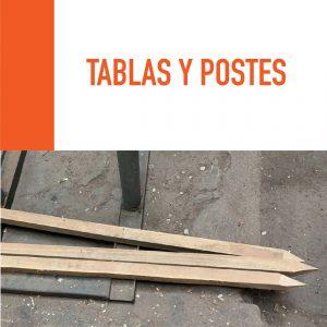Tablas y Postes